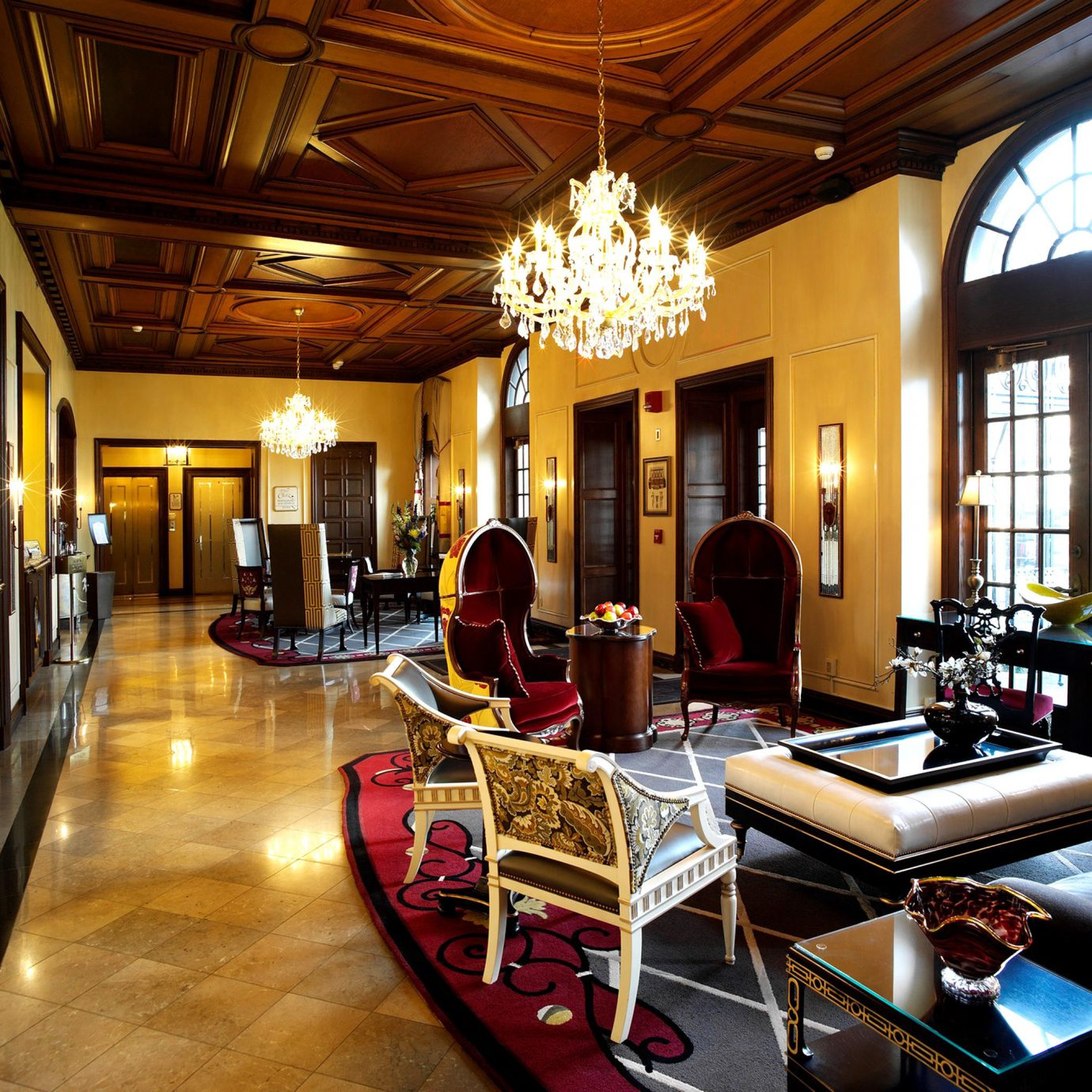 Boutique Elegant Historic Lobby Lounge building living room home recreation room