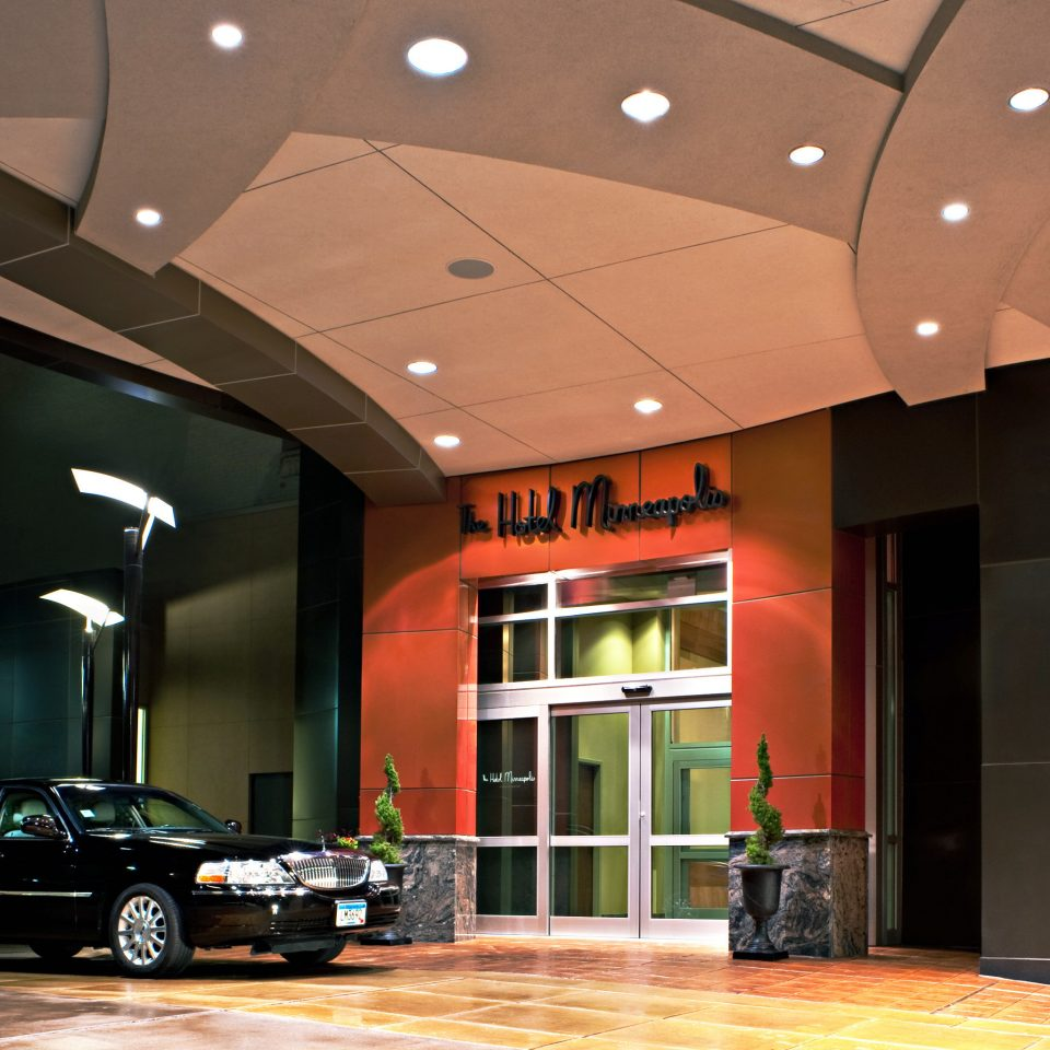 Boutique Exterior Historic Modern building Lobby lighting hall auditorium