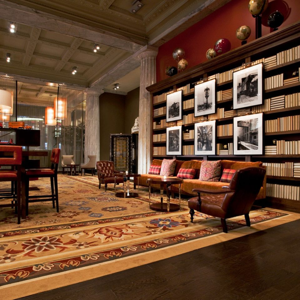 Boutique Historic Lounge Modern Lobby building library Fireplace flooring living room retail tourist attraction