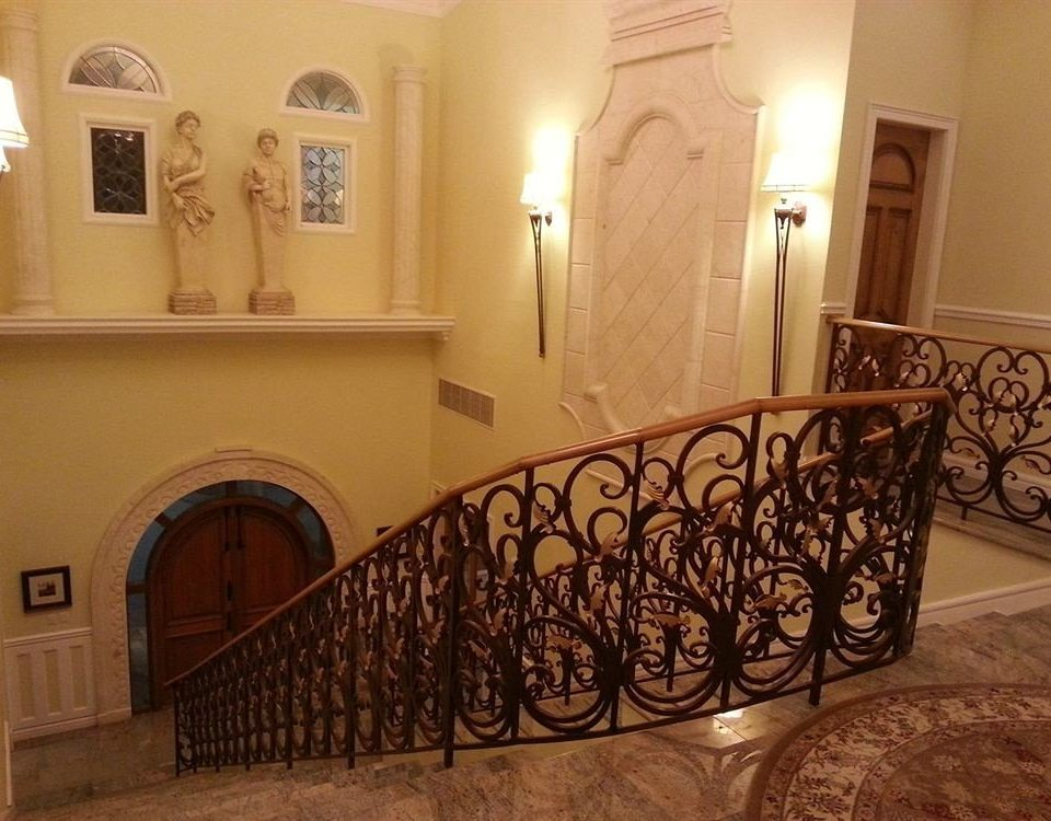 Boutique Grounds Waterfront property handrail baluster hardwood mansion hacienda