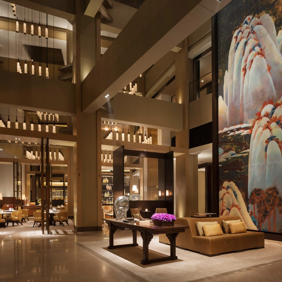 Hip Lobby Lounge Luxury Modern retail Boutique living room lighting home tourist attraction