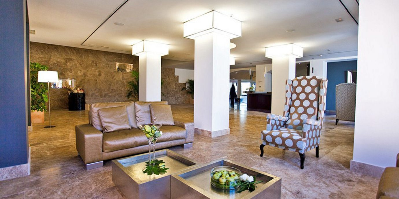 Boutique Hip Lobby Modern property living room condominium home Villa mansion