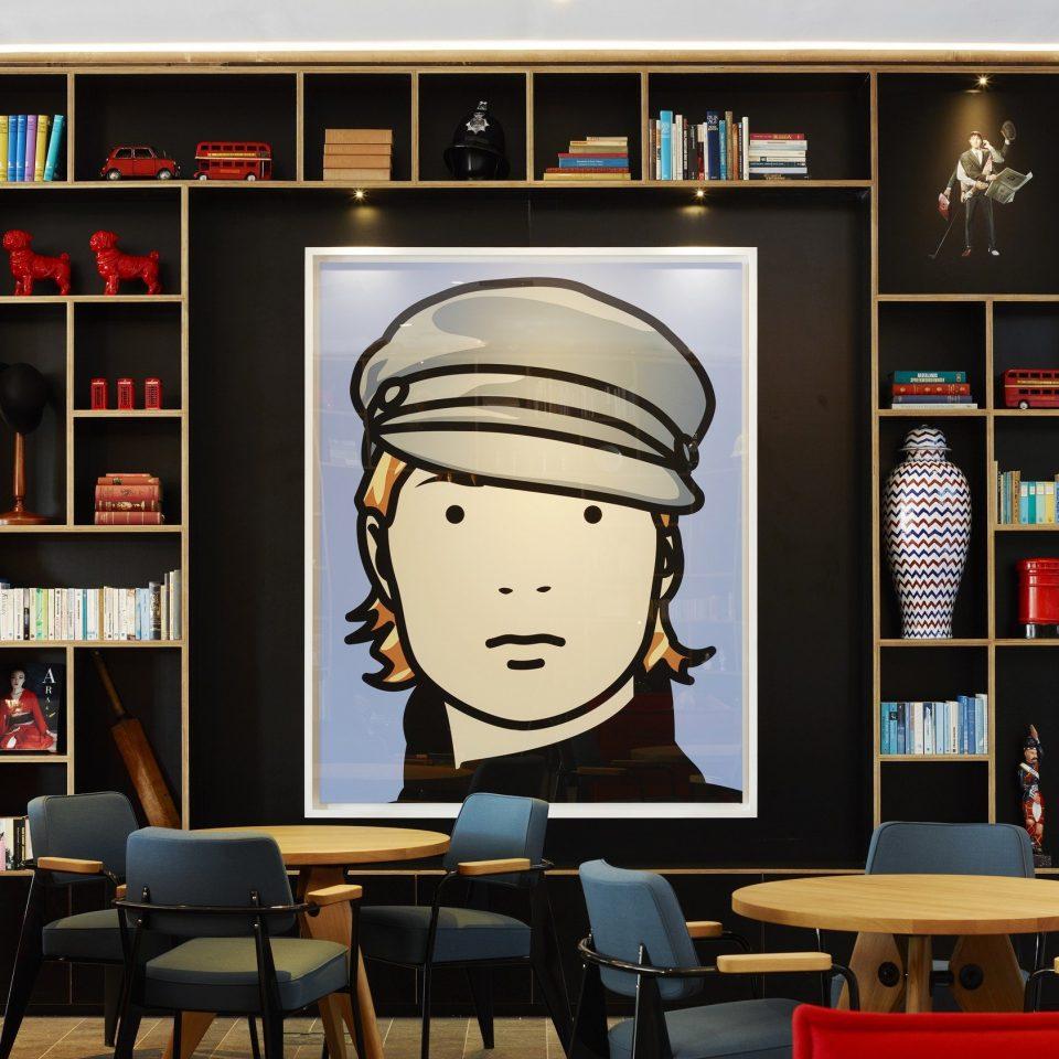 art artistic artsy Boutique charming cozy decor Hip homey interior living area living room Lounge quirky Style + Design stylish trendy shelf classroom set