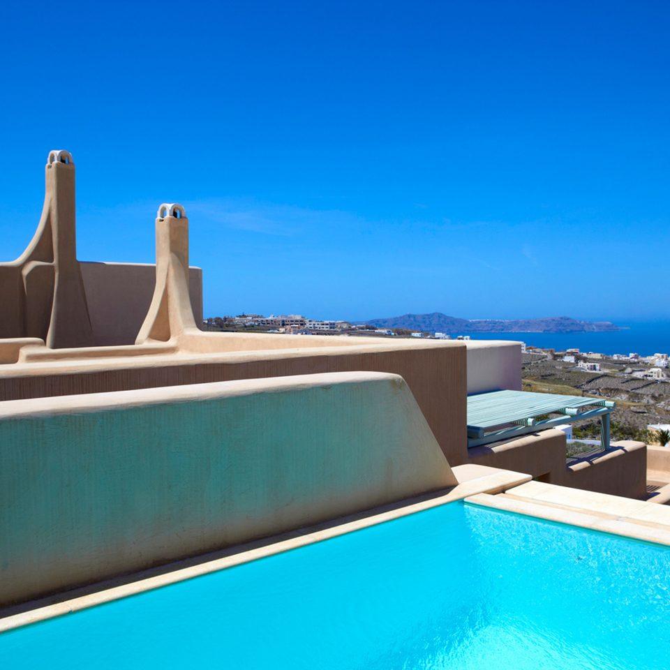 Boutique Honeymoon Pool Romance Romantic Scenic views sky swimming pool property Villa Resort Sea shore
