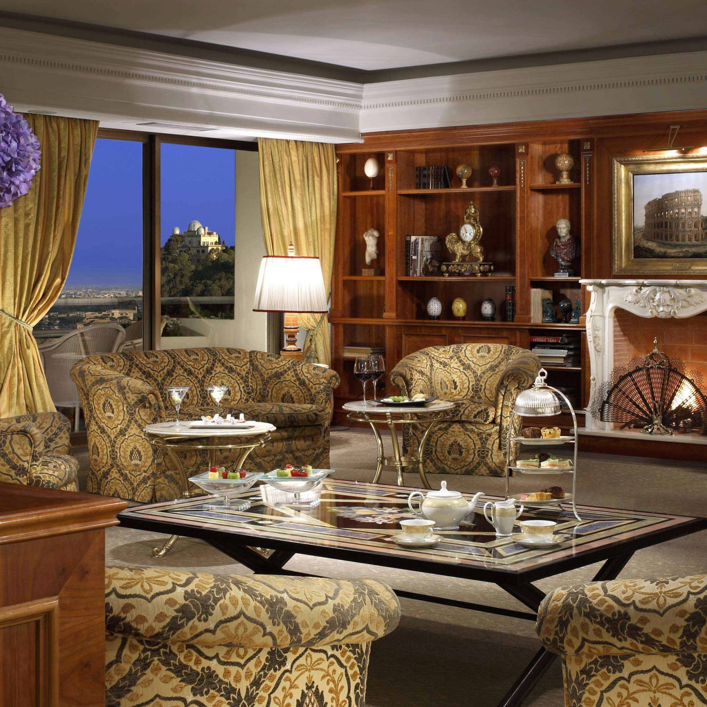 Boutique Hotels City Elegant Italy Luxury Luxury Travel Romantic Hotels Rome property home living room cabinetry Kitchen countertop mansion