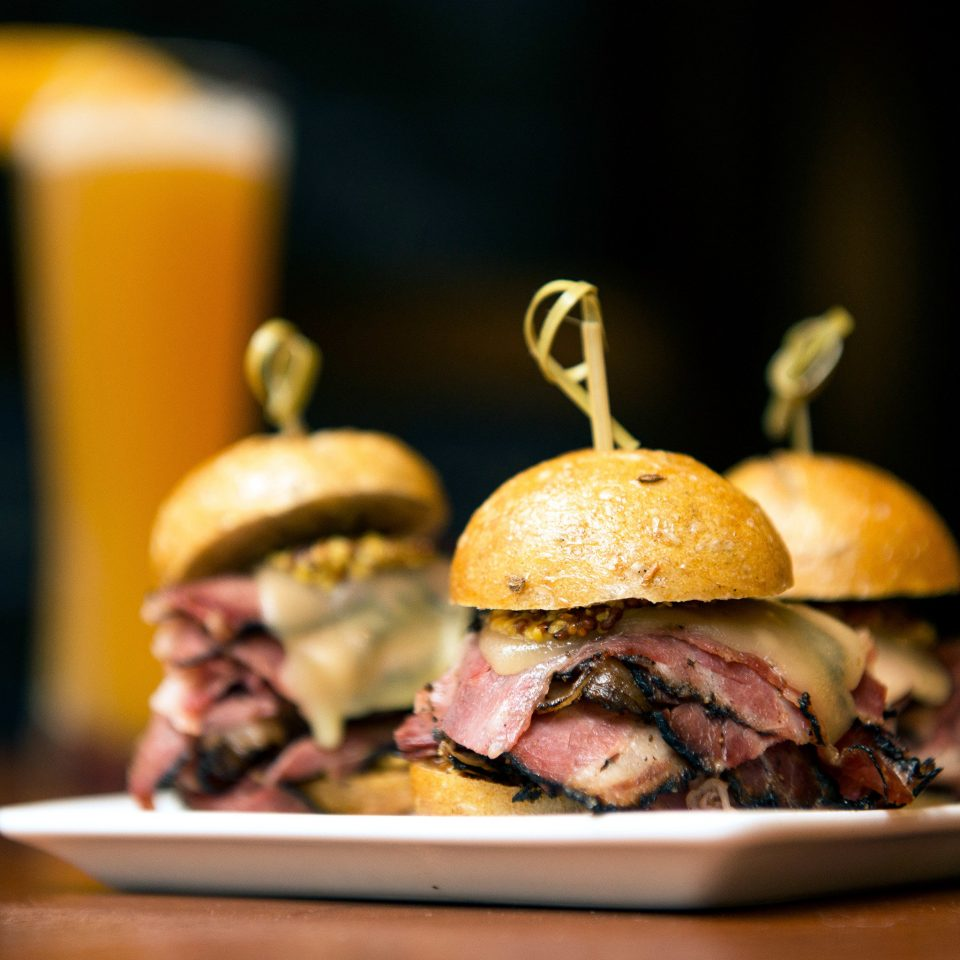 Boutique Hotels Dining Drink Eat Family Travel Hotels food hamburger plate restaurant slider sense meat brunch snack food