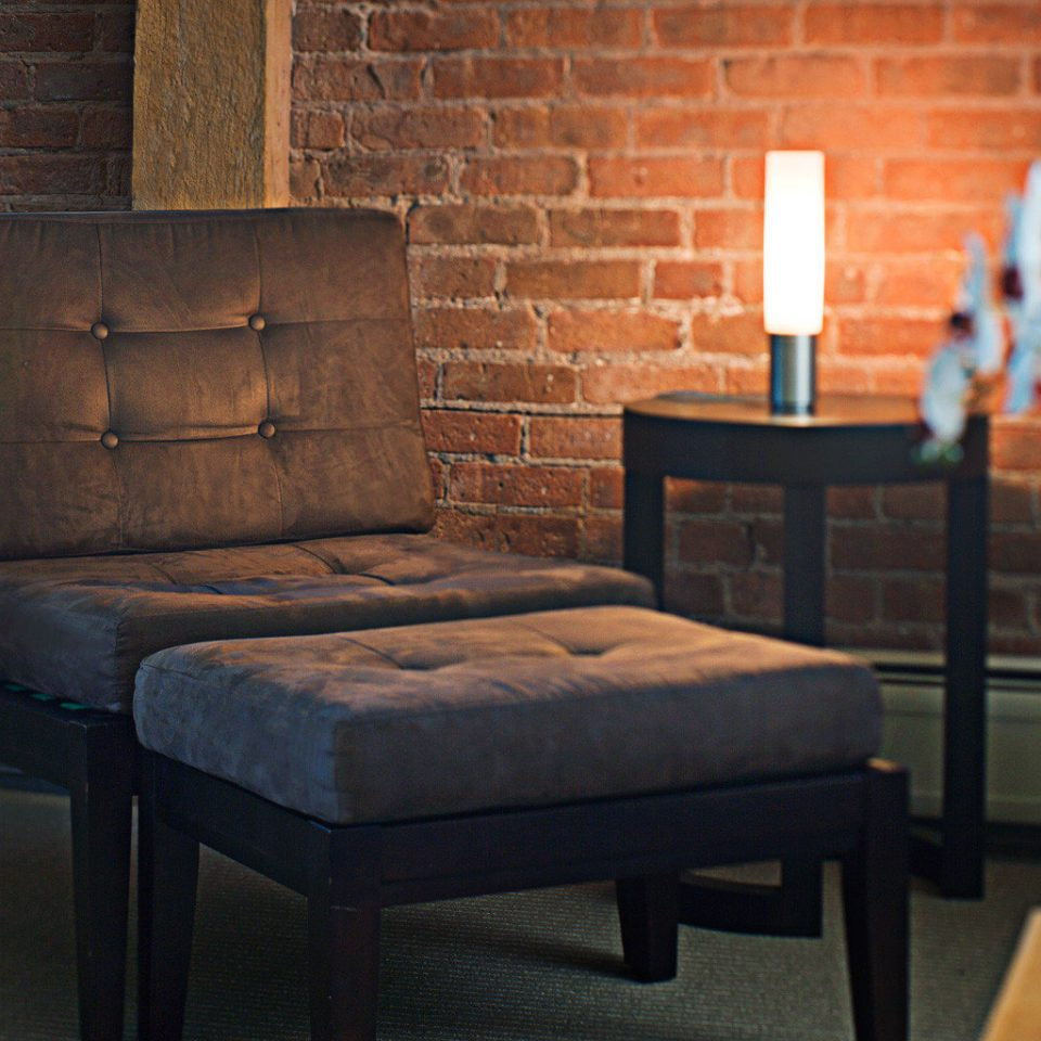 Boutique Inn Lounge living room chair couch