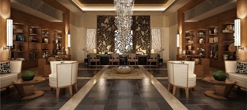 Lobby property living room lighting mansion home Boutique Winery Island