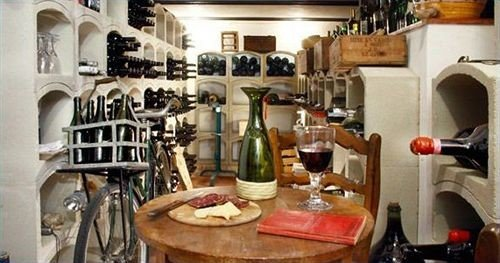 Boutique Kitchen restaurant cluttered