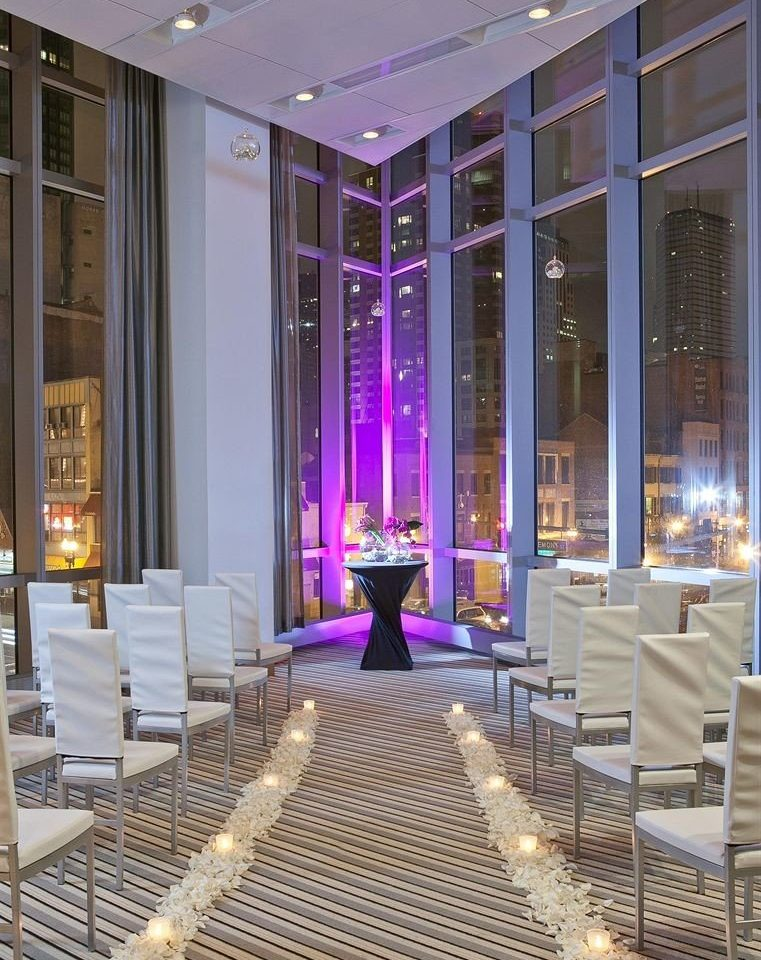 Lobby aisle lighting Boutique ballroom hall
