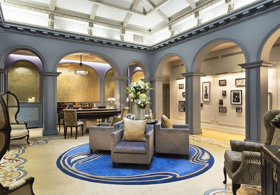 Lobby building Boutique mansion home living room palace colonnade