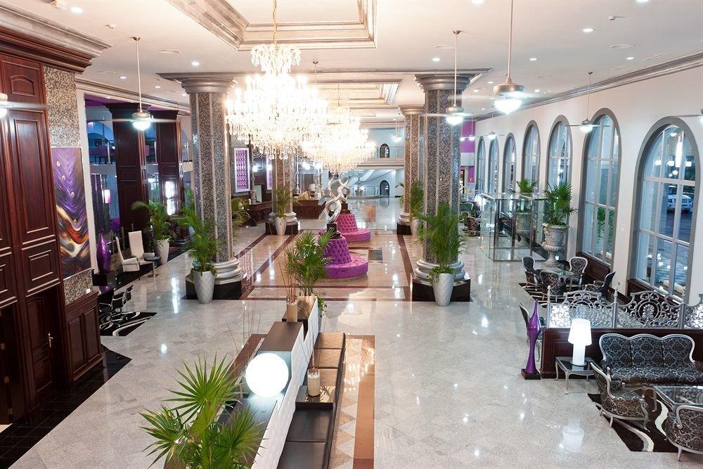 Lobby property building shopping mall retail Boutique condominium restaurant