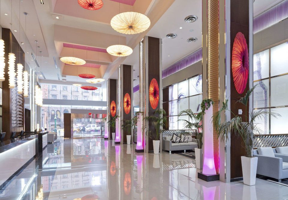 retail shopping mall Boutique building Lobby restaurant shopping outlet store