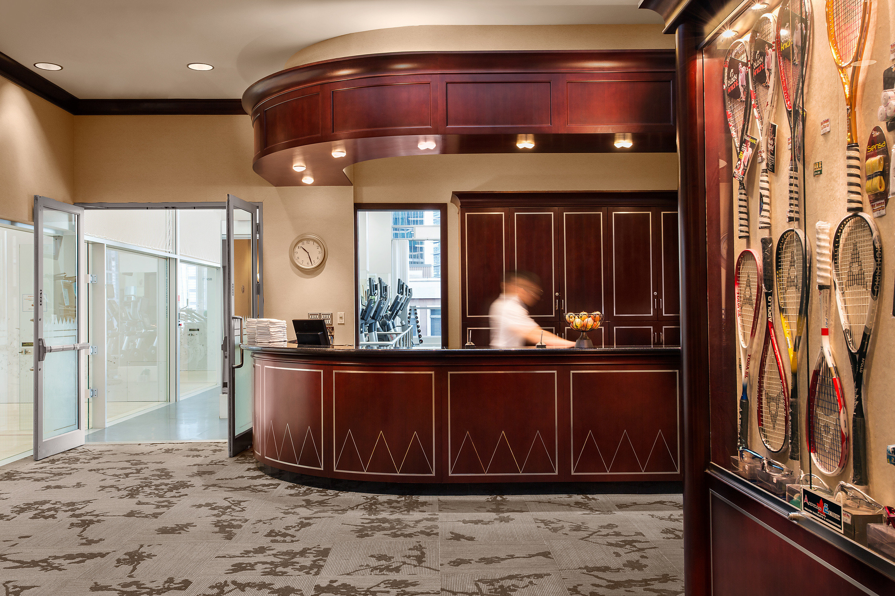 cabinetry Lobby Boutique home flooring