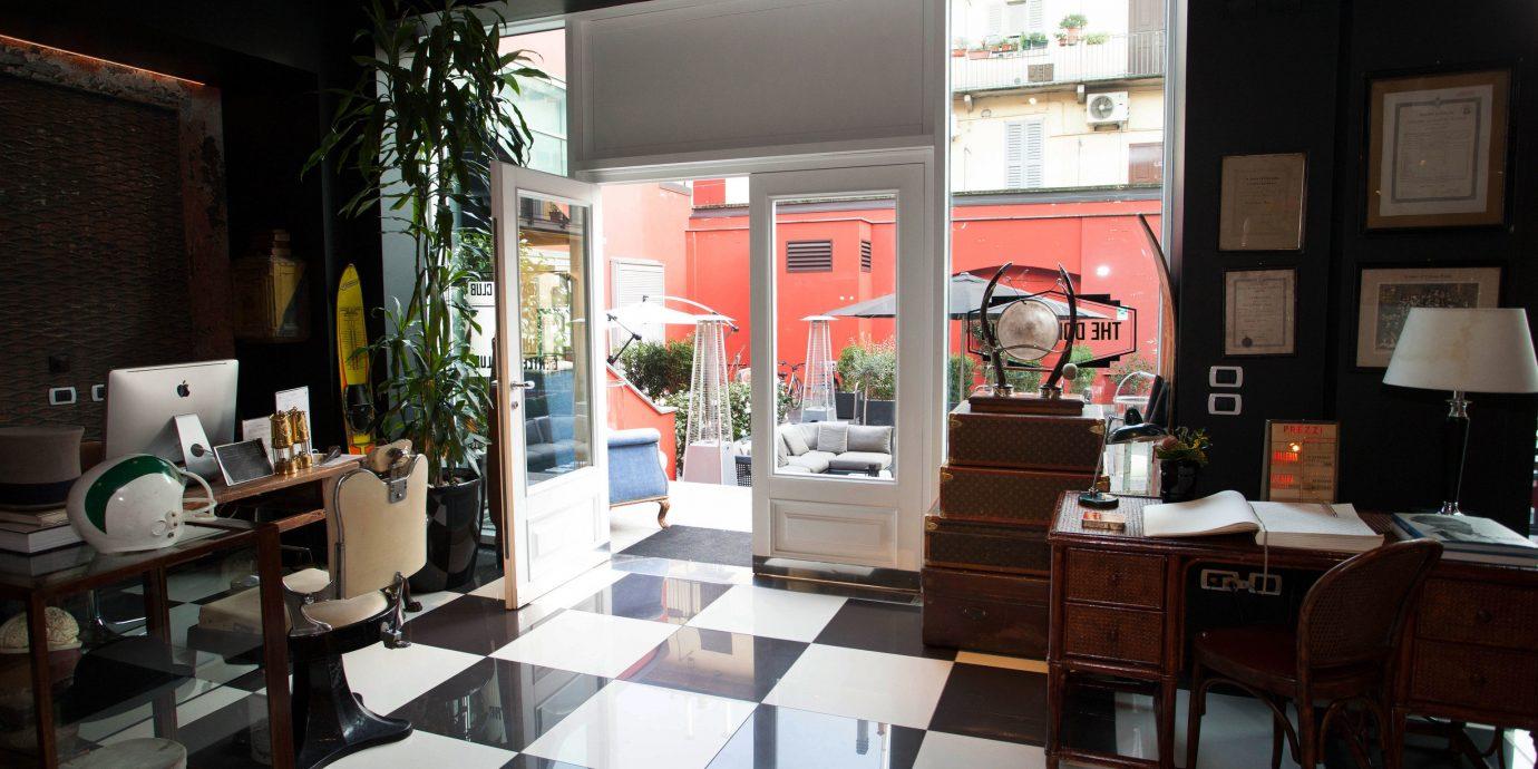 restaurant home Lobby Boutique living room condominium