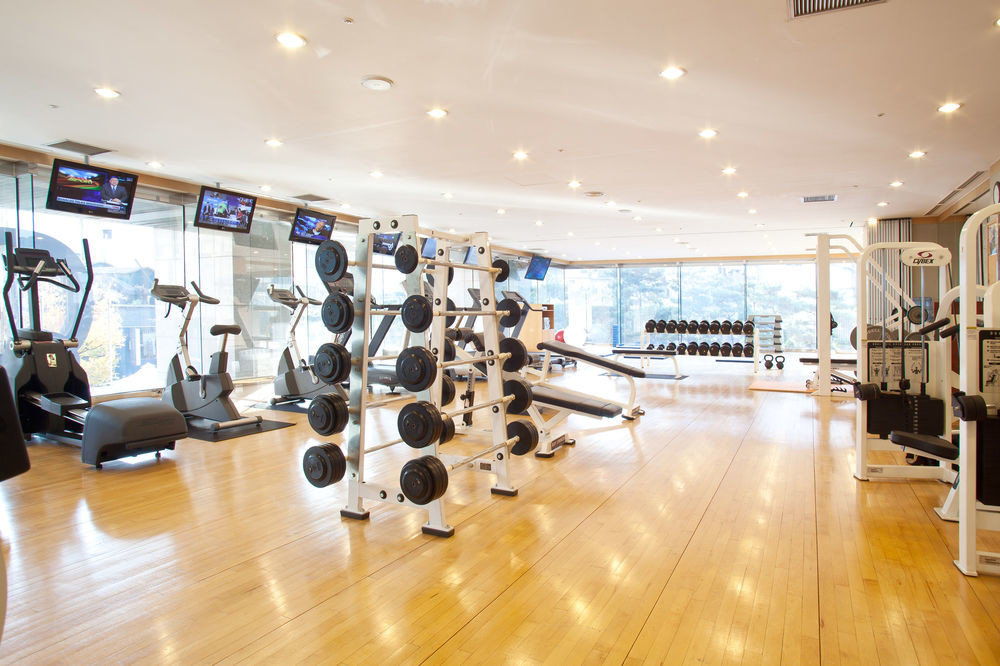 structure sport venue gym Lobby Boutique shopping mall hard