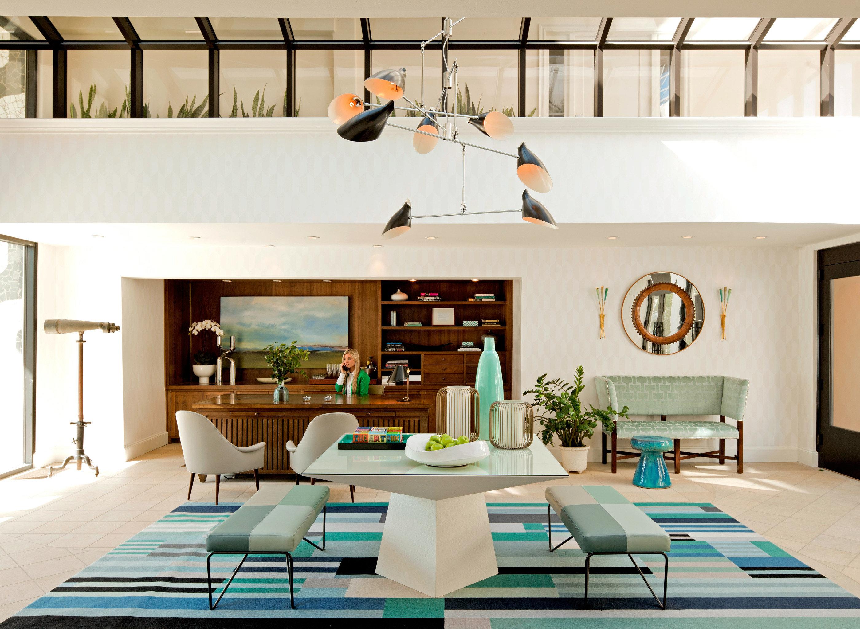 Boutique Lobby Lounge living room property home lighting Villa condominium loft
