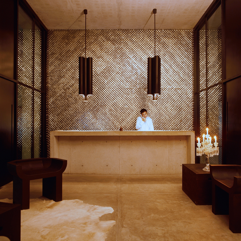 Boutique Lobby Modern bathroom home lighting hall