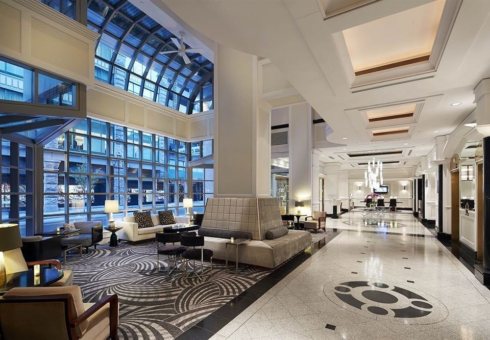 Lobby building retail headquarters shopping mall Boutique condominium Modern
