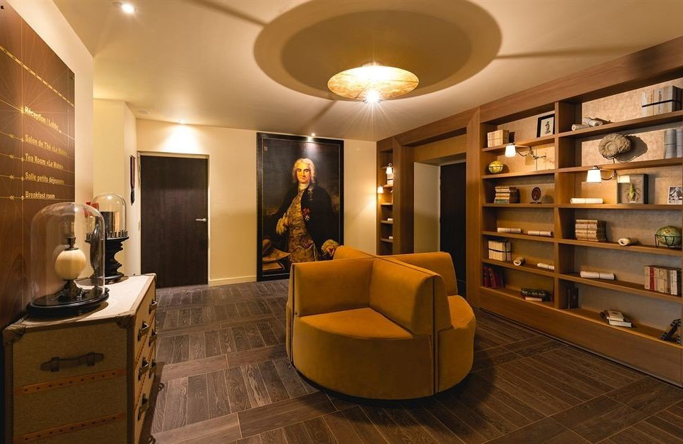 Lobby living room Boutique Modern