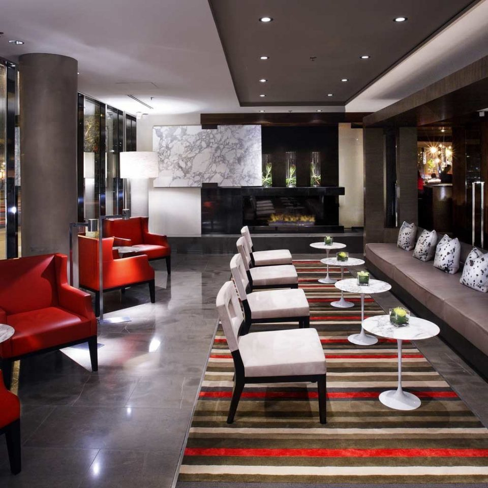 sofa Lobby restaurant red Boutique Modern