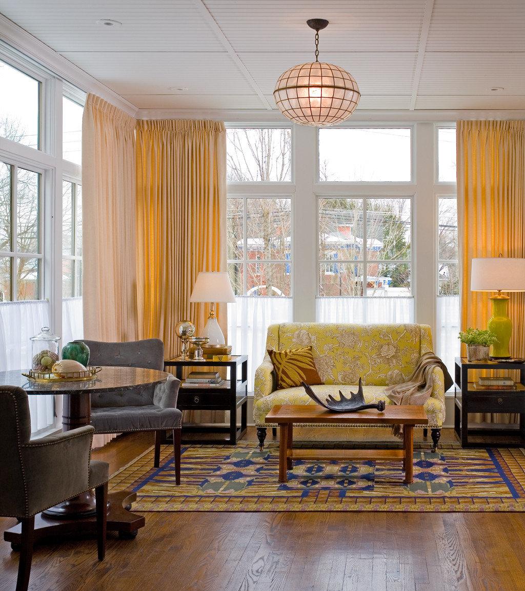 Boutique Modern living room property home hardwood wood flooring condominium window treatment farmhouse flooring