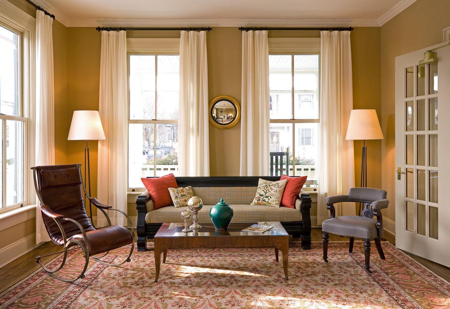 Boutique Modern living room property home hardwood cottage rug