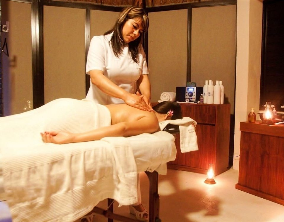 Boutique Modern Spa Tropical Wellness leg human body