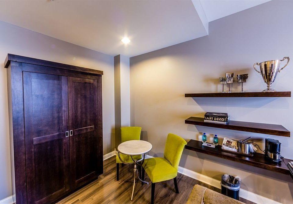 Boutique property Suite home condominium living room cottage lamp Modern