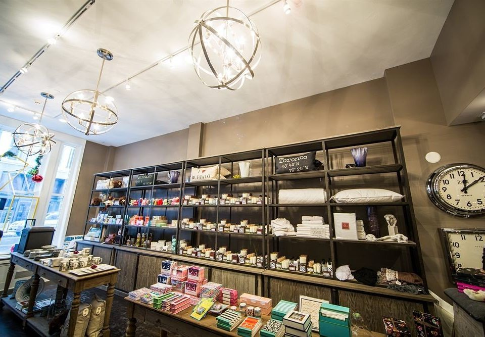 Boutique Shop retail building shelf