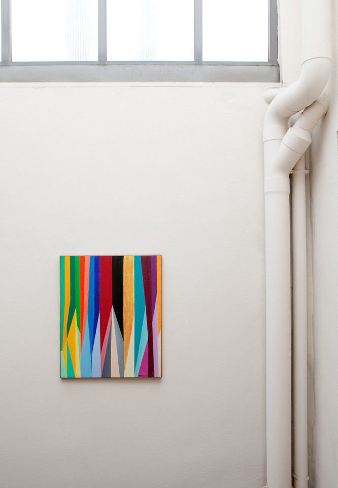 color white gallery product scene brand shape shelf line modern art colored