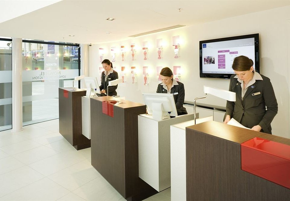 receptionist brand