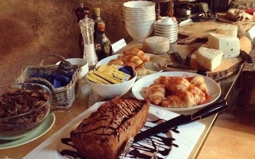 food plate breakfast brunch dessert cuisine bread