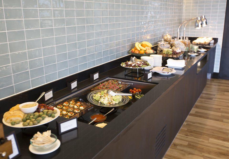 buffet food cuisine counter breakfast brunch