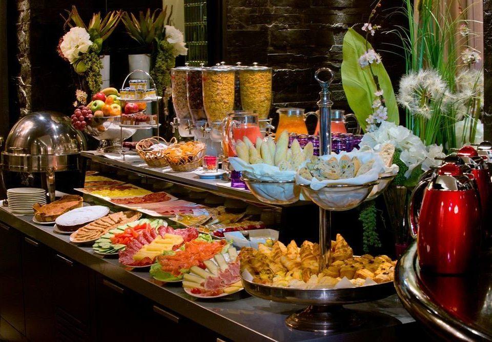 buffet food brunch breakfast cuisine counter