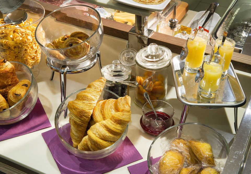 food plate breakfast brunch dessert restaurant supper buffet danish pastry