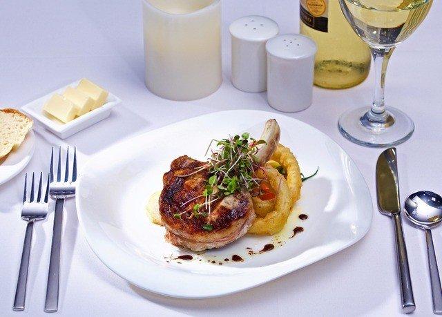 plate food wine breakfast restaurant brunch meat lunch white cuisine full breakfast piece de resistance