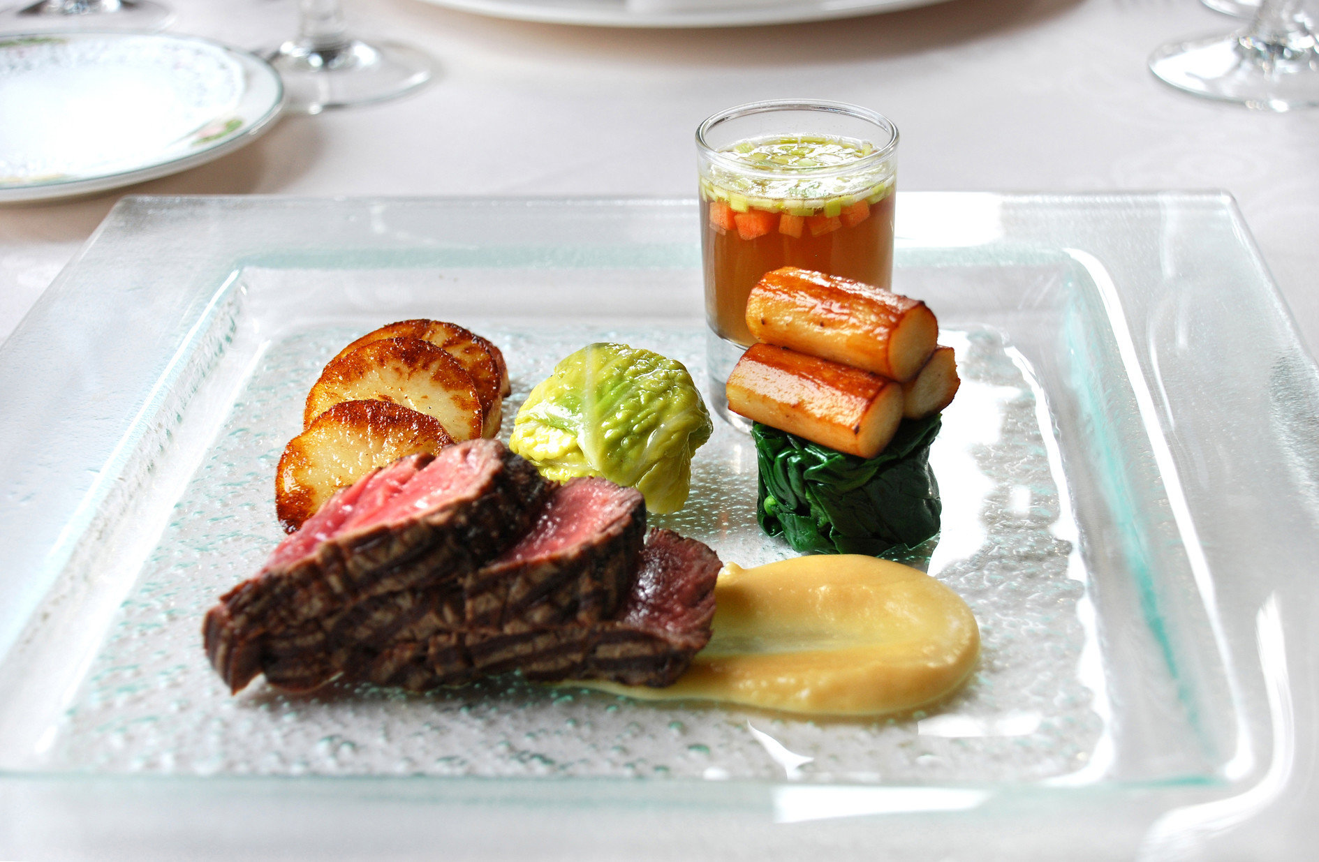 food breakfast lunch meat brunch restaurant steak cuisine fresh piece de resistance