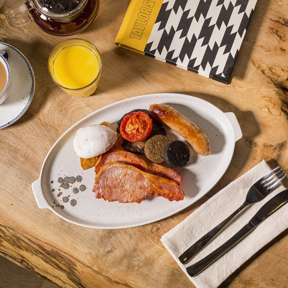 food plate wooden breakfast full breakfast brunch tableware flavor recipe