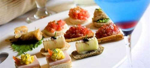 food plate hors d oeuvre cuisine canapé bruschetta pincho breakfast