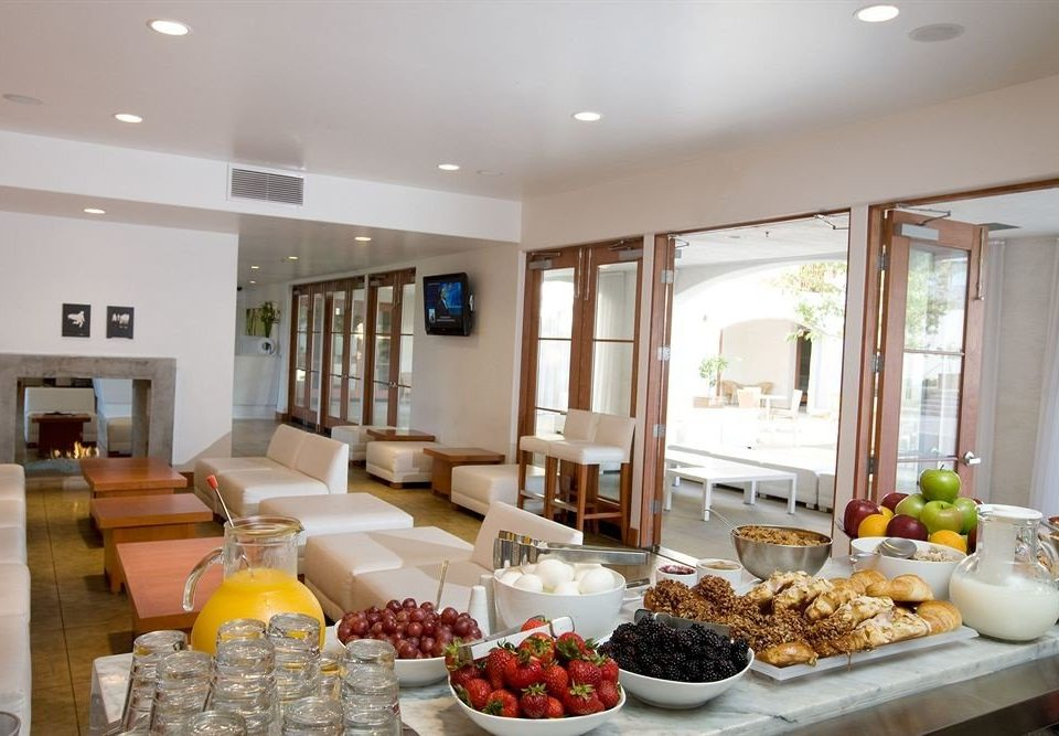 food property plate counter living room home condominium breakfast