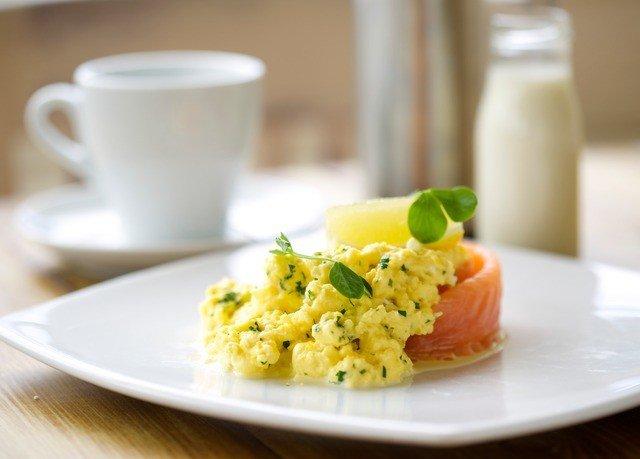 plate food cup breakfast cuisine scrambled eggs vegetable fried rice