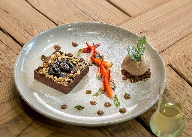 plate food wooden breakfast cuisine dessert vegetable
