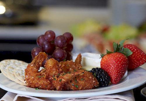 food plate plant fruit breakfast meat cuisine strawberry