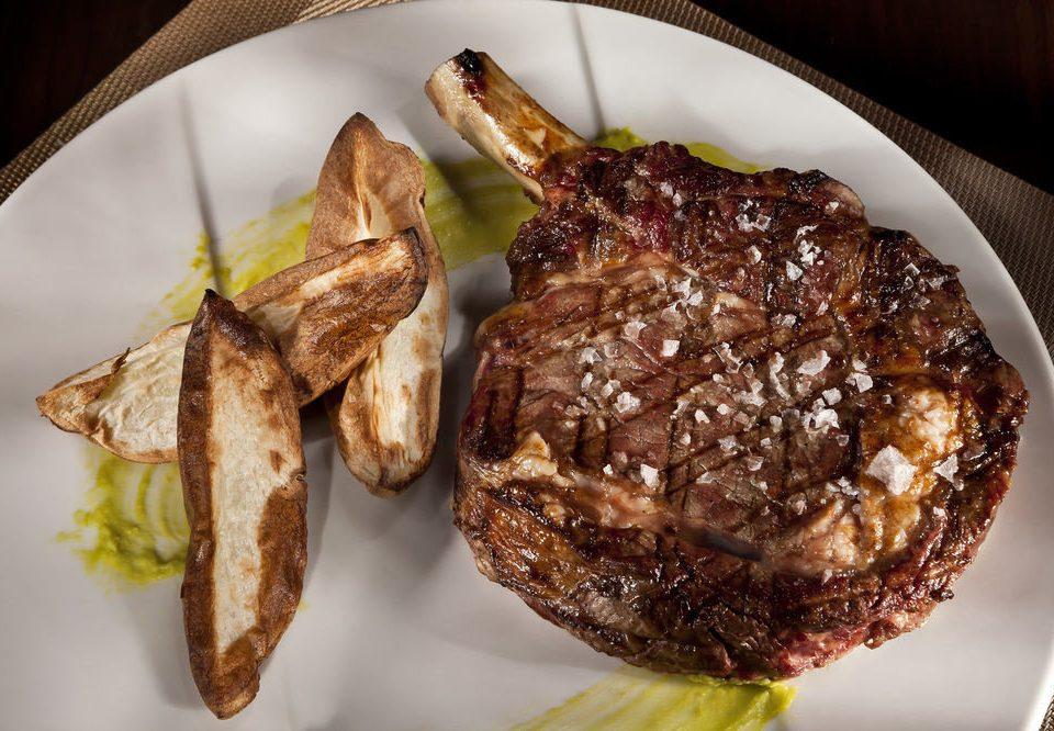 plate food meat breakfast cuisine steak
