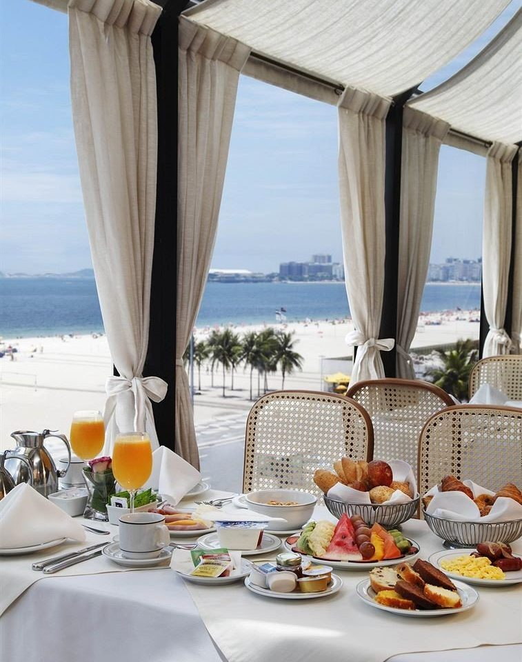 food plate restaurant breakfast set