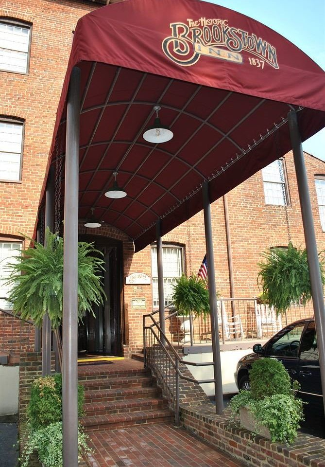 building property canopy brick outdoor structure pergola