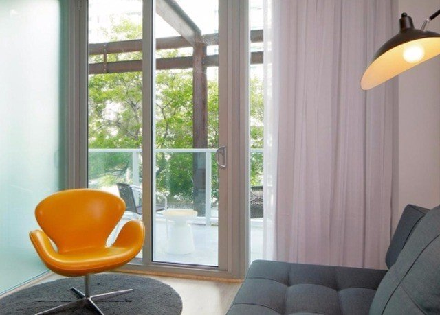 property living room orange yellow home seat lighting sofa bright