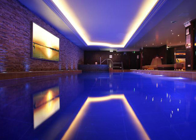 swimming pool nightclub light bright