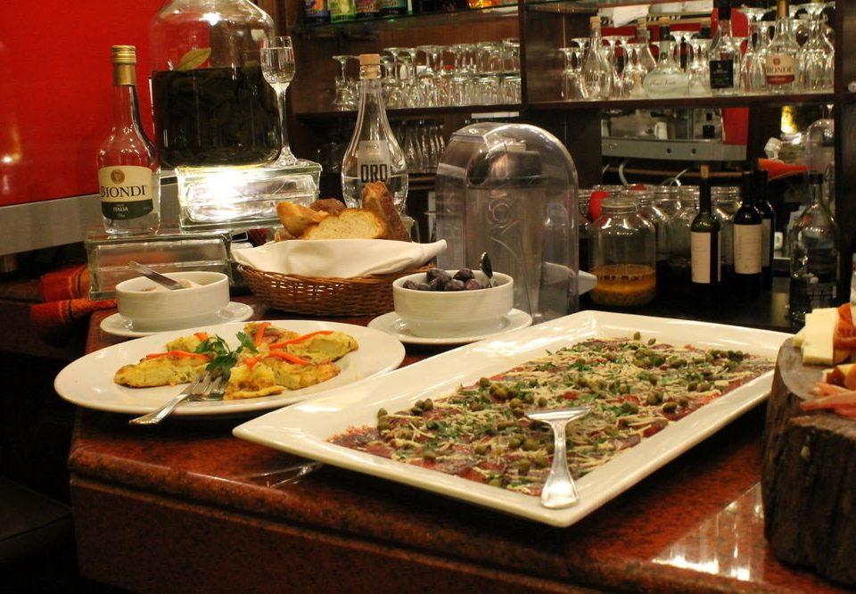 food restaurant supper counter sense brunch buffet cluttered